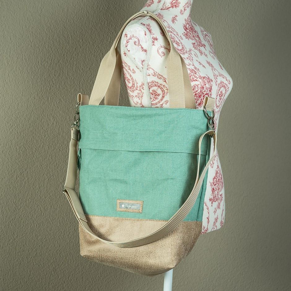 Tasche mit Kunstleder