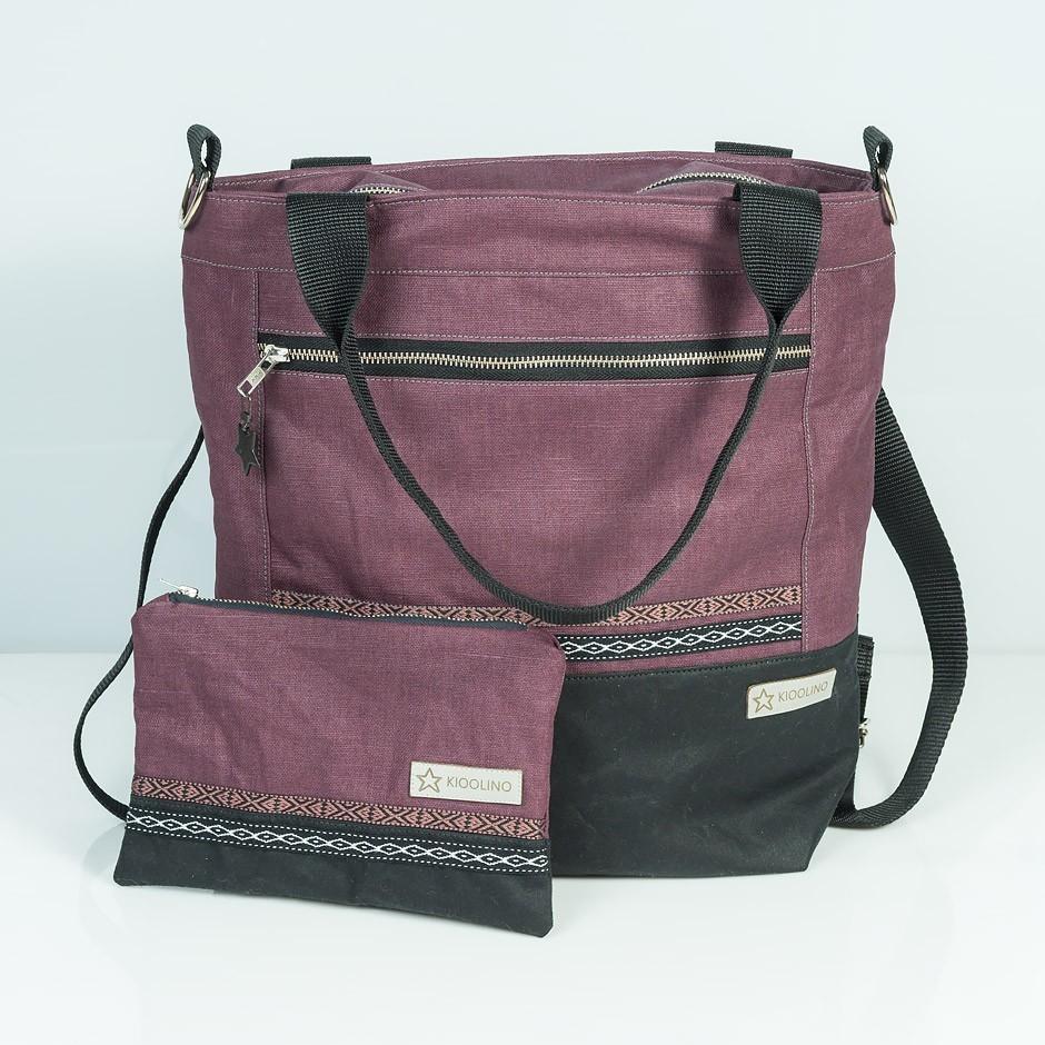 3in1 Bag Oilskin + Etui
